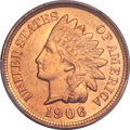 Indian Cents, 1906 1C MS67 Red PCGS....