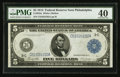 Fr. 855a $5 1914 Federal Reserve Note PMG Extremely Fine 40