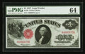 Large Size:Legal Tender Notes, Fr. 36 $1 1917 Legal Tender PMG Choice Uncirculated 64.. ...