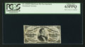 Fractional Currency:Third Issue, Fr. 1294SP 25¢ Third Issue Narrow Margin Face PCGS Choice New 63PPQ.. ...