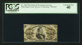 Fractional Currency:Third Issue, Fr. 1297 25¢ Third Issue PCGS Extremely Fine 40.. ...