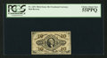 Fractional Currency:Third Issue, Fr. 1251 10¢ Third Issue PCGS Choice About New 55PPQ.. ...