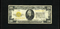 Small Size:Gold Certificates, Fr. 2402 $20 1928 Gold Certificate. Fine.. The edges are nice for the grade....
