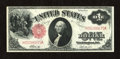 Fr. 37 $1 1917 Legal Tender Extremely Fine. The flanking folds are much lighter than the center fold on this $ Legal