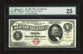Large Size:Silver Certificates, Fr. 260 $5 1886 Silver Certificate PMG Very Fine 25. It has been awhile since a nice example has been auctioned by us. This ...