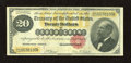 Large Size:Gold Certificates, Fr. 1178 $20 1882 Gold Certificate Very Fine. This is the highestserial number in the Gengerke census for this Friedberg nu...