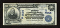 Batesville, AR - $10 1902 Plain Back Fr. 624 The First NB Ch. # 7556 Nice inks and embossing adorn this $10 that exhibi...
