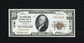 National Bank Notes:Kentucky, Louisville, KY - $10 1929 Ty. 1 The Citizens NB Ch. # 2164. ThisGem Crisp Uncirculated $10 is nicely margined and c...