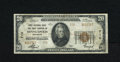 National Bank Notes:Minnesota, Minneapolis, MN - $20 1929 Ty. 2 First NB & TC Ch. # 710. Sound edges and nice margins are found on this $20. Fine+....