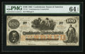 Confederate Notes:1862 Issues, CT-41/316A $100 1862. ...