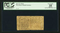 Colonial Notes:New Jersey, New Jersey June 22, 1756 6s PCGS Apparent Very Good 10.. ...
