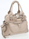Luxury Accessories:Accessories, Chloe Beige Leather Paddington Bag . ...