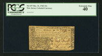 New Jersey December 31, 1763 15s PCGS Extremely Fine 40