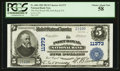 National Bank Notes:Pennsylvania, Port Royal, PA - $5 1902 Plain Back Fr. 606 The Port Royal NB Ch. #11373. ...