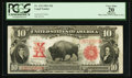 Large Size:Legal Tender Notes, Fr. 122 $10 1901 Legal Tender PCGS Apparent Very Fine 20.. ...