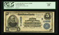 National Bank Notes:Mississippi, Itta Bena, MS - $5 1902 Plain Back Fr. 605 The First NB Ch. # (S)10688. ...