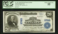 National Bank Notes:Pennsylvania, Genesee, PA - $20 1902 Plain Back Fr. 653 The First NB Ch. # 9783....
