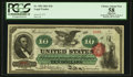 Large Size:Legal Tender Notes, Fr. 95b $10 1863 Legal Tender PCGS Apparent Choice About New 58.. ...