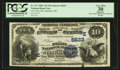 National Bank Notes:Maryland, Oakland, MD - $10 1882 Value Back Fr. 577 The First NB Ch. #(E)5623. ...