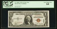 Fr. 2300* $1 1935A Hawaii Silver Certificate. PCGS Very Choice New 64