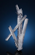 Minerals:Cabinet Specimens, STIBNITE. Lushi Co., Sanmenxia Prefecture, Henan Province,China. ... (Total: 2 Items)