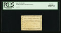 Colonial Notes:North Carolina, North Carolina April 23, 1761 20s PCGS Very Fine 25PPQ.. ...