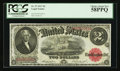 Large Size:Legal Tender Notes, Fr. 57 $2 1917 Legal Tender PCGS Choice About New 58PPQ.. ...