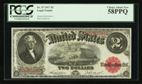 Fr. 57 $2 1917 Legal Tender PCGS Choice About New 58PPQ