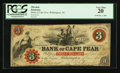 Obsoletes By State:North Carolina, Wilmington, NC- The Bank of Cape Fear $3 Jan. 1, 1861 G58. ...