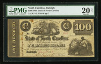 Raleigh, NC- The State of North Carolina $100 Jan. 16, 1862 Cr. 74-2