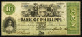 Obsoletes By State:Virginia, Philippi, VA- The Bank of Philippi $10 April 2, 1861 G12a Jones BP40-22. ...