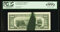 Error Notes:Ink Smears, Fr. 2072-J $20 1977 Federal Reserve Note. PCGS Choice New 63PPQ.....