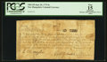 Colonial Notes:New Hampshire, New Hampshire June 20, 1775 6s PCGS Apparent Fine 15.. ...