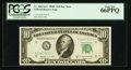 Small Size:Federal Reserve Notes, Fr. 2013-K* $10 1950C Federal Reserve Note. PCGS Gem New 66PPQ.. ...