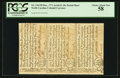 Colonial Notes:North Carolina, North Carolina December, 1771 Uncut Sheet of Three PCGS Choice About New 58.. ...