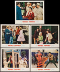 """Movie Posters:Comedy, Double Trouble (20th Century Fox, 1960). Lobby Cards (5) (11"""" X 14""""). Comedy.. ... (Total: 5 Items)"""