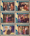 "Movie Posters:War, The Hour Before the Dawn (Paramount, 1944). Lobby Cards (6) (11"" X14""). War.. ... (Total: 6 Items)"