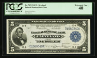Fr. 785 $5 1918 Federal Reserve Bank Note PCGS Extremely Fine 40