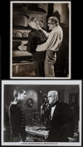 """Movie Posters:Horror, The Ghoul & Other Lot (Gaumont, 1933). Photo & Reprint Photo (8"""" X 10""""). Horror.. ... (Total: 2 Items)"""