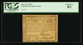 Colonial Notes:Maryland, Maryland June 28, 1780 $1 PCGS Choice New 63.. ...