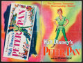 """Movie Posters:Animation, Peter Pan (RKO, 1953). Uncut Pressbook (44 Pages, 11"""" X 17"""").Animation.. ..."""