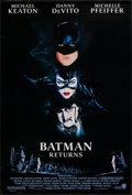 """Movie Posters:Action, Batman Returns (Warner Brothers, 1992). One Sheet (27"""" X 40"""") SS.Action.. ..."""