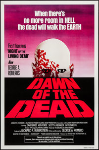 """Dawn of the Dead (United Film Distribution, 1978). One Sheet (27"""" X 41"""") Red Style. Horror"""