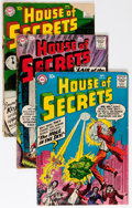 Silver Age (1956-1969):Horror, House of Secrets Group (DC, 1957-64) Condition: Average VG-....(Total: 17 Comic Books)