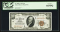 Small Size:Federal Reserve Bank Notes, Fr. 1860-A $10 1929 Federal Reserve Bank Note. PCGS Gem New 66PPQ.. ...