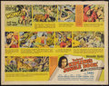 "Movie Posters:Adventure, Jungle Book (United Artists, 1942). Half Sheet (22"" X 28"").Adventure.. ..."