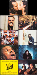 """Movie Posters:Horror, The Shining (Warner Brothers, 1980). Mini Lobby Card Set of 9 (8"""" X 10""""). Horror.. ... (Total: 9 Items)"""