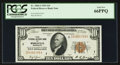 Small Size:Federal Reserve Bank Notes, Fr. 1860-I $10 1929 Federal Reserve Bank Note. PCGS Gem New 66PPQ.. ...