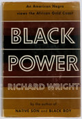Books:Americana & American History, [Africa Ghana]. Richard Wright. Black Power. A Record ofReactions in a Land of Pathos. Harper & Brothers, [1954...