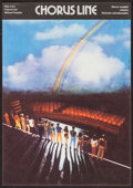 """Movie Posters:Musical, A Chorus Line (Columbia, 1987). Czech Poster (11"""" X 15.75""""). Musical.. ..."""